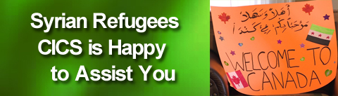 Syrian Refugees CICS is Happy to Assist You