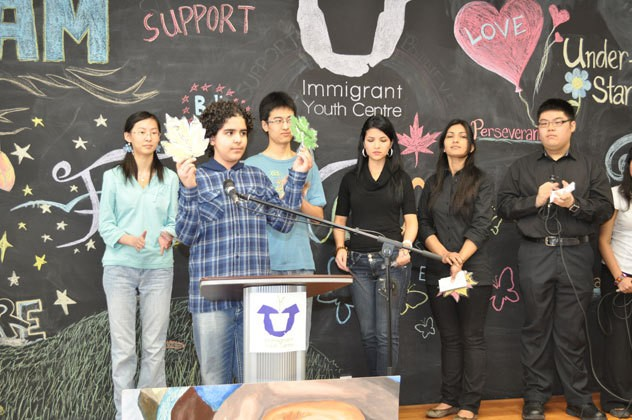 """Special Performance from five very special youth who shared their stories in a segment called """"One Voice"""""""